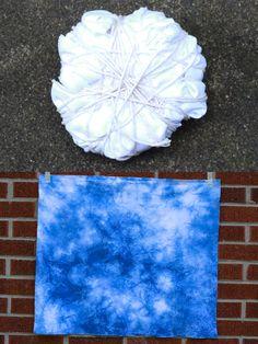 Shibori Indigo Dyeing Tutorial - In Color Order