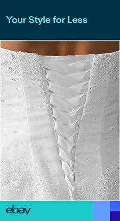 92fead5c76 Satin Corset Kit   10 Extra Wide Panel Wedding Gown Lace-up All Sizes    Colors