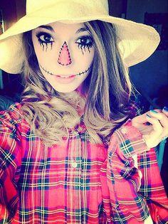 16. Vogelscheuche Halloween (Karneval) - Kostüme (19 Ideen) http://de.lady-vishenka.com/halloween-costume-scarecrow/