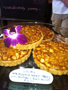 The best Macadamia Nut tart in Kapaa.