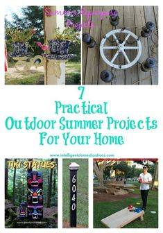 7 Practical Outdoor Summer Projects for Your Home Intelligent Domestications