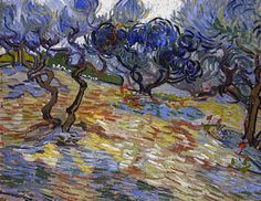 Vincent Van Gogh, Olivos, National Gallery of Scotland, Edimburgo, 1889. Carmen Pinedo Herrero