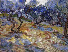 Vincent Van Gogh, Olivos, National Gallery of Scotland, Edimburgo, 1889. Carmen Pinedo Herrero