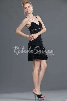 Fringe Nouveau Parti Black Dress [ROBECOCKTAIL0056] - €98.56 : Robe de Soirée Pas Cher,Robe de Cocktail Pas Cher,Robe de Mariage,Robe de Soirée Cocktail.