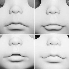 Commissions Girl Soon! 4 Different Lips Curve. #blythe #blythedoll #blythecustom #blythethailand #blythecustomdoll #doll #dolls #dollface #dollfaceup #dollartistry #dollstagram #littledollsroom #dollphotography #littledollsroombaby #lipcurve | por little dolls room