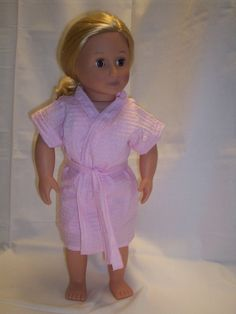 Pink Gown and Robe Set by RedDirtRoadDesigns on Etsy