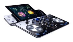 iPad goes wireless with Hercules DJControlWave - http://djworx.com/ipad-goes-wireless-hercules-djcontrolwave/
