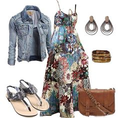That dress Summer Outfits For Moms, Mom Outfits, Spring Outfits, Casual Outfits, Cute Outfits, Estilo Country, Boho Fashion, Fashion Outfits, Relaxed Outfit