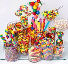 Candy Bar #picknmix #sweeties #party #wedding #childrensparty #candybar