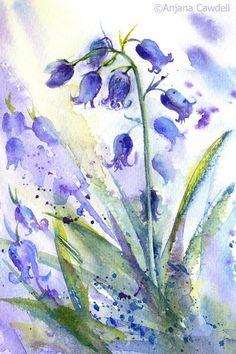 Bluebells https://www.etsy.com/uk/listing/578976894/bluebell-painting-bluebell-watercolour