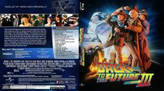 Back to the Future Part III Blu-ray Custom Cover Back To The Future, Cover Design, Artists, Photos, Book Cover Design, Cover Art