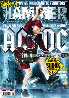 MHR261 AC/DC cover from 2014 for Metal Hammer Magazine in the UK with some photoshop manipulation from Magic Torch