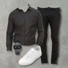 Combo all black, moda masculina, estilo