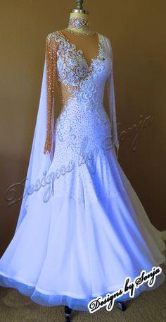 25cb46b31bbed Kleider Dress White Black Ballroom Dancing Pinterest qwOgqzRx