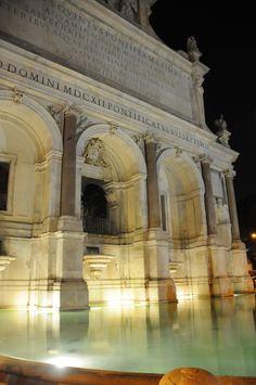 Fontana dell'Acqua Paola, Rome.