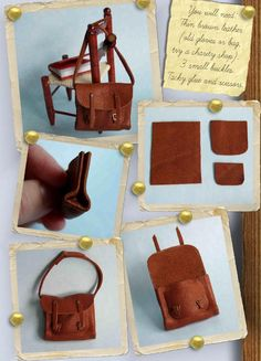 how to: barbie doll satchel