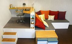 Modular Living Room Furniture Small E Design Home Office Compact