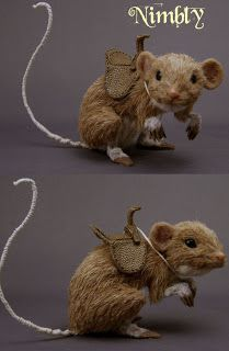 fairy rides mouse