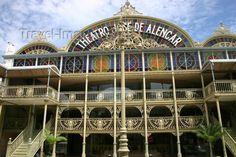 CEARÁ (capital Fortaleza) - Teatro José de Alencar.