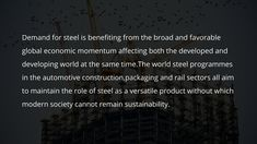 Challenges And Opportunities In Steel Industry Challenges And Opportunities, Opportunity, Industrial, Steel, Industrial Music, Steel Grades, Iron