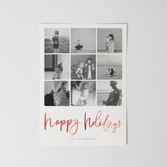 Artifact Uprising Holiday Cards | Print your instagrams in a premium quality 100% recycled card.