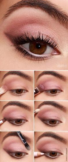 Makeup Tutorial: Sultry Shadowed Cateye - Make Up - .- Makeup Tutorial: Sultry Shadowed Cateye – Make Up – # Sultry - Makeup Eye Looks, Eye Makeup Steps, Simple Eye Makeup, Natural Dewy Makeup, Makeup Eyeshadow, Hair Makeup, Pink Makeup, Eyeshadows, Sultry Makeup
