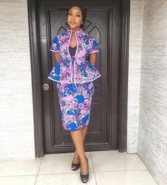 Hottest Ankara Skirt and Blouse Styles for Nigerian Ladies - DeZango Fashion Zone