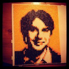 Raj The Big Bang Theory hama perler beads by kat_hamae - Original design by Pamela Z