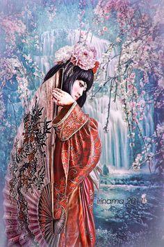 Kimono by irinama.deviantart.com on @deviantART