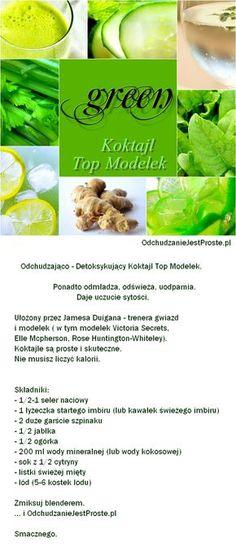 Zielony koktajl Top Modelek
