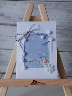 Новогодняя открытка Ted Baker, Gift Wrapping, Tote Bag, Winter, Gifts, Handmade, Presents, Hand Made, Wrapping Gifts
