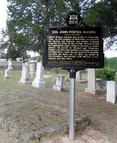 Historical marker - This Arkansas Civil War Sesquicentennial Commission marker will be dedicated in Magnolia City Cemetery on Saturday, June 30.