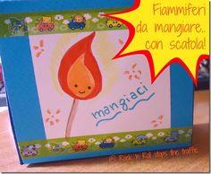 DIY fiammiferi da mangiare.. con scatola