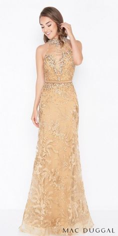 5788869bd41 Exude elegance and radiate confidence in the stunning Vintage Beaded Lace  Illusion Column Evening Dress by
