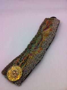 My bracelet... That was the first fibre bracelet I made...
