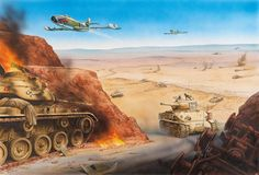 The battle of the Dothan Valley, Samaria, 6 June 1967, Six Day War