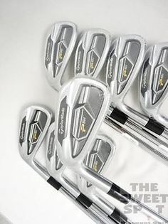 MINT LH TaylorMade Golf PSi Iron Set 3-PW Steel Stiff Left Hand