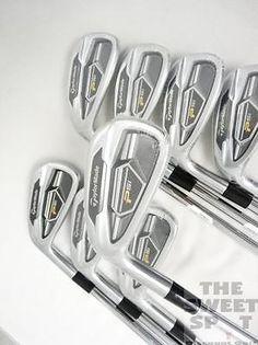 MINT LH TaylorMade Golf PSi Iron Set 3-PW Steel Stiff Left Hand