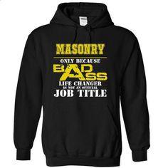 Masonry - #hoodie allen #sweaters for fall. ORDER HERE => https://www.sunfrog.com/Funny/Masonry-8371-Black-8438630-Hoodie.html?68278