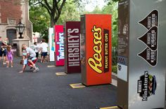 Hershey has to combat the changing market with e-commerce and healthy snacks as the biggest setbacks.