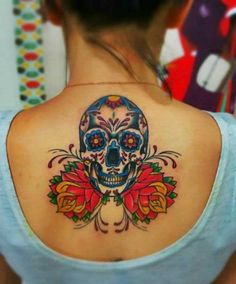 Mexican tattoo designs offer good art look. Sugar skull tattoo is not scary. This tattoo is rather sweet since the name is derived from the sugar words. Free Tattoo Designs, Temporary Tattoo Designs, Skull Tattoo Design, Skull Design, Design Art, Chicano Tattoos, Skull Tattoos, Body Art Tattoos, Dragon Tattoos