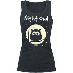 Tank top, Night Owl - SwedenRockShop, 169 SEK