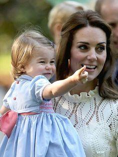 Catherine, Duchess of Cambridge and Charlotte