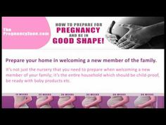 How To Prepare For Pregnancy And Be In Good Shape! Pregnancy Videos, Third Pregnancy, Prepping For Pregnancy, Moisturizer For Dry Skin, Childproofing, Baby Bumps, Future Baby, Face And Body, Shapes