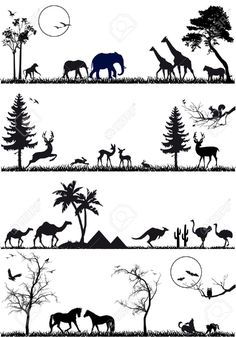 Deer Silhouette Cliparts, Stock Vector And Royalty Free Deer ...