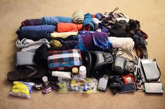 """What Not to Wear  Deciding what to bring with you while backpacking can literally make or break your trip, and more likely your back. So the age old """"less is more"""" attitude is true when packing. First things first, what kind of backpack do you bring??  This question will be answered by a few different criteria:       Length of trip      Number of countries you plan on visiting      Time of year you plan on traveling      How much of the trip you want recorded"""