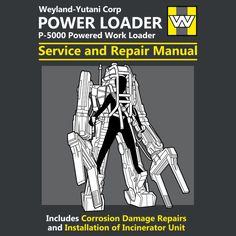 Power Loader Service and Repair Manual by adho1982 - Get Free Worldwide Shipping! This neat design is available on comfy T-shirt (including oversized shirts up to 6XL ladies fit and kids shirts), sweatshirts, hoodies, phone cases, and more. Free worldwide shipping available.