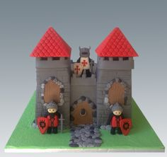 Playmobil Castle Cake