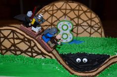 "Dillon's 8th birthday cake - ""The Beast!"""