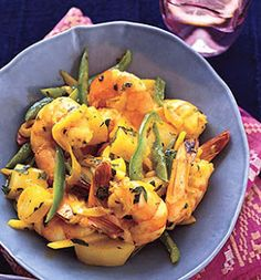 Curried Shrimp - This was AWESOME and sooo quick and easy. -S.